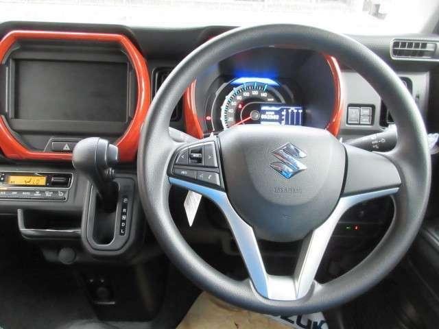 ハンドルリモコン対応しています!運転中にとっても便利ですよね♪受注生産カラーの内装色です☆