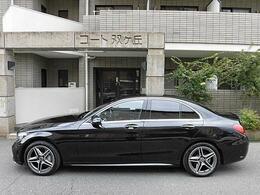 AMGスタイリングで更にスポーティーで精悍なデザイン!