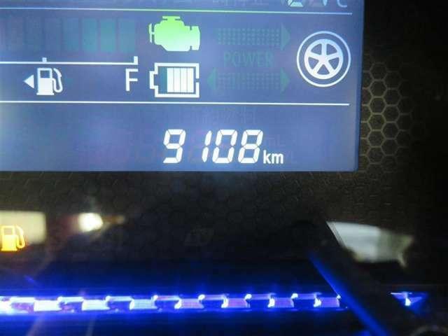 走行距離約9100キロ、まだまだこれからのクルマです。