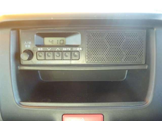 オーディオの写真です。ラジオが聞けます。