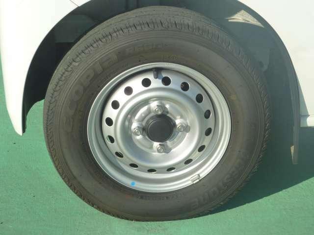 タイヤの写真です。