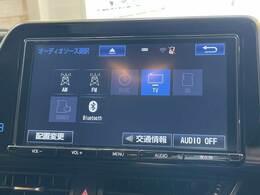 フルセグ内臓の純正9インチナビ搭載。DVD再生、Bluetoothも対応可能です。