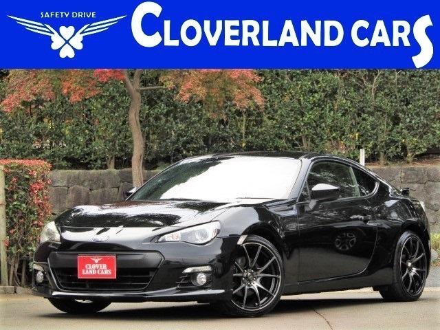 【クローバーランドカーズです、当店のお車をご覧頂きまして誠に有難うございます!!】H26年式スバルBRZ S 人気のクリスタルブラック スマートキープッシュスタート 18インチアルミホイール!!