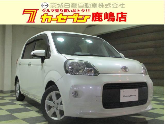 トヨタ人気のコンパクトカー ポルテ1.5G 平成25年式入荷しました!人気のパールホワイトです!