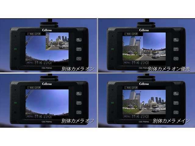 Aプラン画像:画面表示は4種類から選択できます☆
