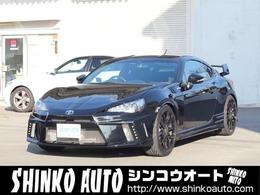 トヨタ 86 2.0 GT HksSC外マフラーF6R4ポットブレーキ
