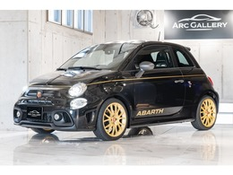 アバルト 595 スコルピオーネオーロ 世界限定2000台 ワンオーナー 左H 5MT