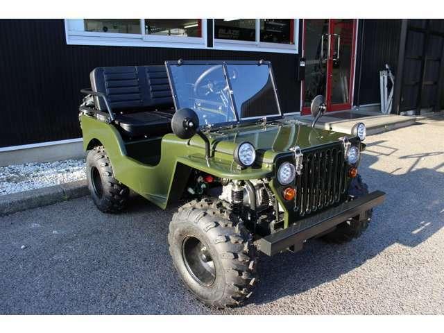 """多彩なカラー""""自分好みの一台に""""標準カラーの他、オプションカラー2色を設定。オプションカラーにつきましては64,800円!専用エンジンスタートシステム・LEDヘッドライト・公道走行可・新デザインベンチシート"""