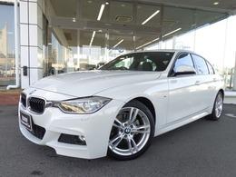 BMW 3シリーズ 320d Mスポーツ 18AW黒革ACC社外DTVドラレコ禁煙認定中古車