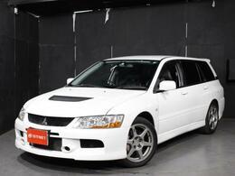 三菱 ランサーエボリューションワゴン 2.0 GT-A 4WD カロッツェリアDVDナビ 純正17AW ETC
