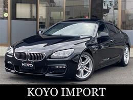 BMW 6シリーズグランクーペ 640i Mスポーツパッケージ 白革/SR/ナビTV/Bカメラ/禁煙車