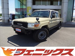 トヨタ ランドクルーザー70ピックアップ 4.0 4WD 社外ナビクラッツィオ革調シートカバー