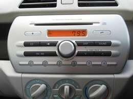 純正オーディオ装備しております!CD再生やラジオを聴くことが出来ます!