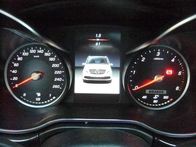 BRABUS 260kmスピードメーター