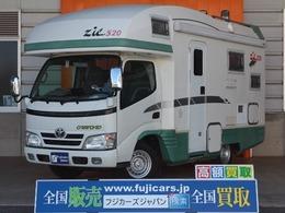 トヨタ カムロード バンテック ジル520 常設2段ベッド FF 温水ボイラー トイレ 冷蔵庫
