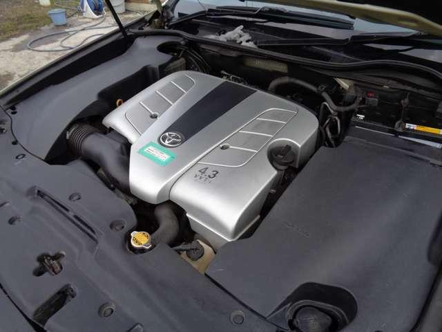 車検令和4年5月26日迄ございます!4300CCの調子の良いエンジンです!タイミングベルトも交換済みのお車ですので10万キロ時の交換も不要です♪