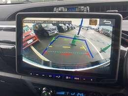 ◆アルパイン11型ナビ(ハイラックス専用)◆バックカメラ◆後方も確認ができ、駐車の際に安全性が上がります!