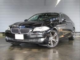 BMW 5シリーズ 523i ハイラインパッケージ Hi-LinePKG・サンルーフ・黒革・純正ナビ