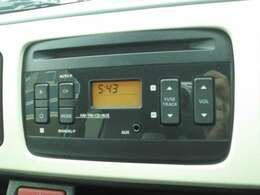 CDオーディオ付きでドライブも楽しい♪