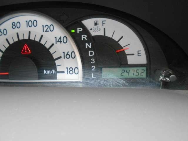 運転中の視線移動が少ないセンターメーター