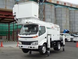 日野自動車 デュトロ 高所作業車 電工仕様 AT146TE タダノ ウインチ サブブーム 全塗装
