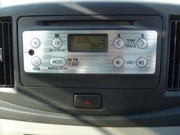 CDチューナーつきで車内は素敵な音楽空間に早変り。