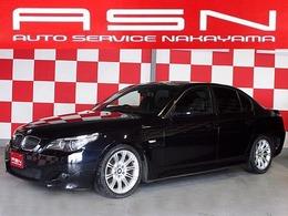BMW 5シリーズ 540i Mスポーツパッケージ 黒革シート 純正ナビ 18インチアルミ