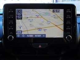 8インチディスプレイオーディオ装備!お使いのスマートフォンと連携すれば、ナビアプリや音楽アプリ等が大画面で操作できます!