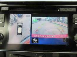純正SDナビ付き♪ アラウンドビューカメラ搭載になります♪ 360度のカメラ映像で死角もなく、駐車がより安全になります♪
