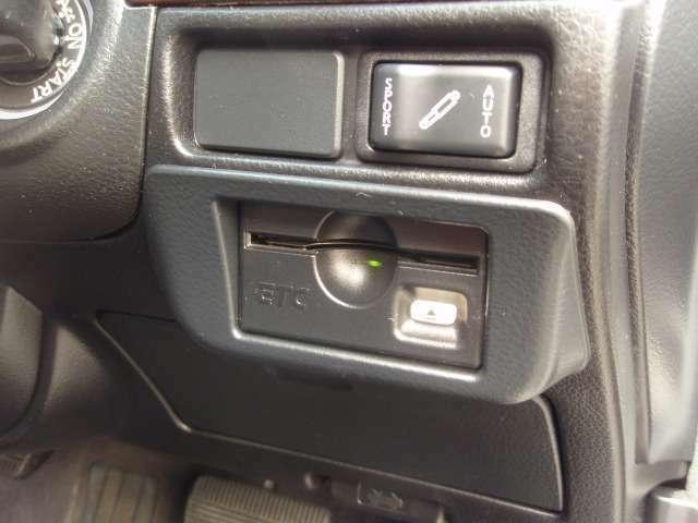 快適ドライブの必需品・ETCももちろんついてます!