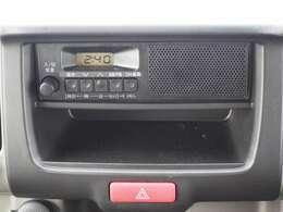 オーディオはラジオのみとなります。
