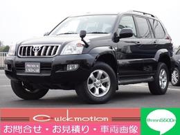 トヨタ ランドクルーザープラド 2.7 TXリミテッド 4WD ナビカメラETC・1オーナー記録簿修復歴無