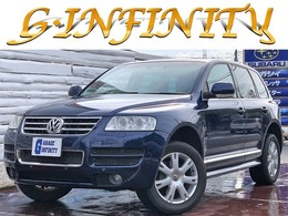 フォルクスワーゲン トゥアレグ V6 シュトルツ 4WD /黒本革/専用エアロ/純オーディオ/ETC/HID