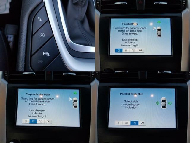 モンデオの特徴的な装備【オートパーキングシステム】。通常の駐車、縦列駐車、縦列駐車からの脱出をアクセルとブレーキの操作のみでできます。