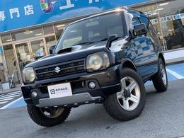 スズキ ジムニー 660 ワイルドウインド 4WD 社外メモリーナビ 地デジTV ドラレコ