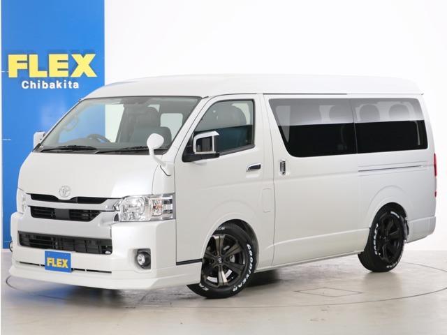新車未登録 ハイエースワゴンGL ガソリン2WD FLEX内装アレンジ【Ver1デニム】!
