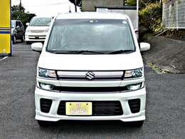 ワゴンR 社外ナビ ワンセグ シートヒーター LED ETC アイドリングストップ スマートキー 4WD ワンオーナー