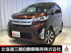 三菱 eKカスタム の中古車 660 T 4WD 北海道札幌市北区 80.0万円