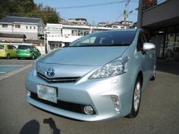 トヨタ プリウスα 1.8 G 7人乗り 走行29.000キロ ナビ TV