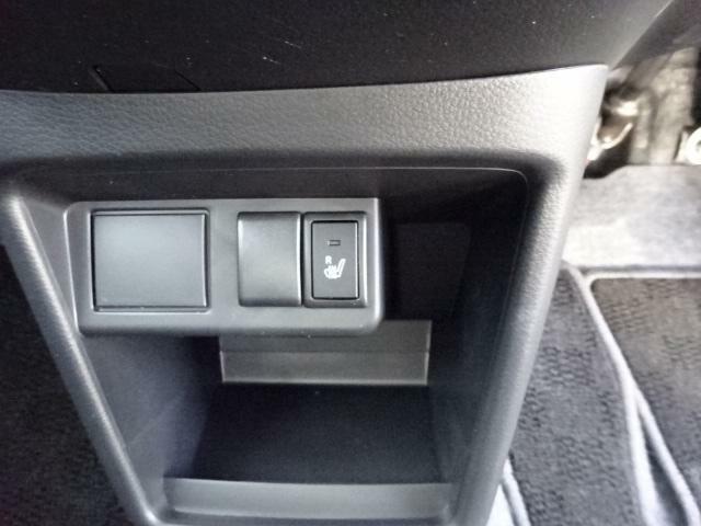 冬場の座面シートが座って「ヒヤッ」としたら嫌ですよね?冬場の座面が冷たくてもシートが温かくなる「シートヒーター」標準装備☆これがあれば心も体も暖まり快適な気持ちで運転が楽しめますよ♪