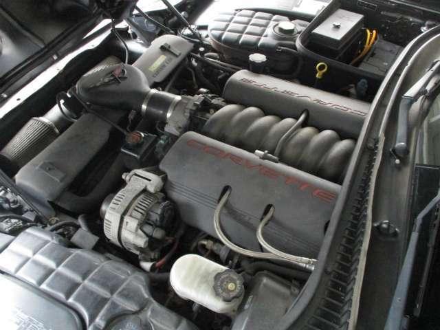 5.7リットルエンジン