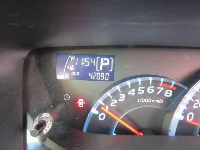 走行少なめ42090kmです。