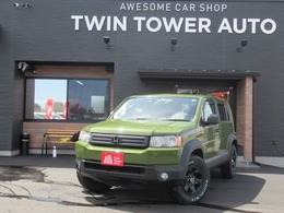 ホンダ クロスロード 1.8 18X HIDエディション 4WD 全塗装済み リフトアップ 新品タイヤAW