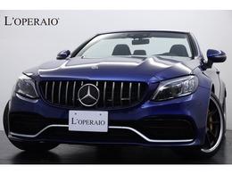 メルセデスAMG Cクラスカブリオレ C63 S 1オナ パフォーマンスPKG カーボンブレーキ