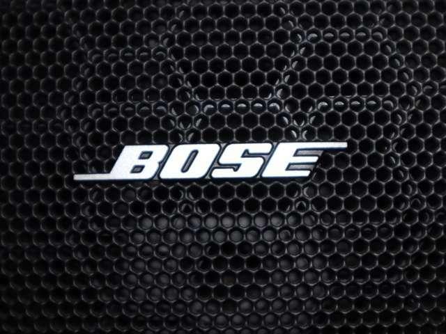 BOSE社による、車種別設計のこだわりのサウンドシステムです。音楽がお好きな方は、さらにご機嫌なドライブが楽しめます。ぜひ、ご実感ください。