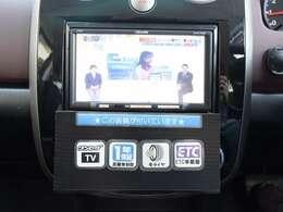 ドライブの必須装備、メモリーナビ&ETC付!TVも観れます!購入時から付いているとお得な装備が満載♪
