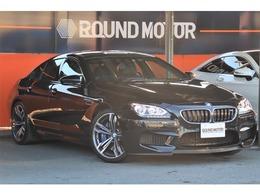 BMW M6 グランクーペ 4.4 1年保証付 軽減B 地デジTV 黒革 20AW