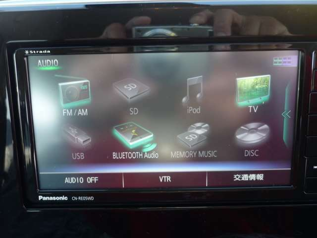■2021年型パナソニック新型ナビ■フルセグTV■DVD/CD再生可■携帯電話とのBluetooth連携機能■CD録音機能付き