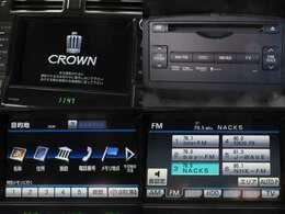 お出掛け嬉しい、メーカーHDDナビ(フルセグ地デジTV)付です♪DVDビデオ再生機能・音楽録音機能・USB/Bluetooth接続も可能です♪