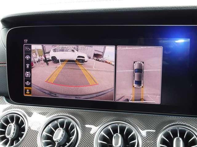 360°カメラ装備 PTS(障害物センサー)装備